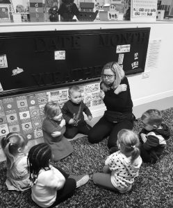 OMNIPRESENCE CHILDREN NURSERY SCHOOL NORTHAMPTON - SIGN LANGUAGE
