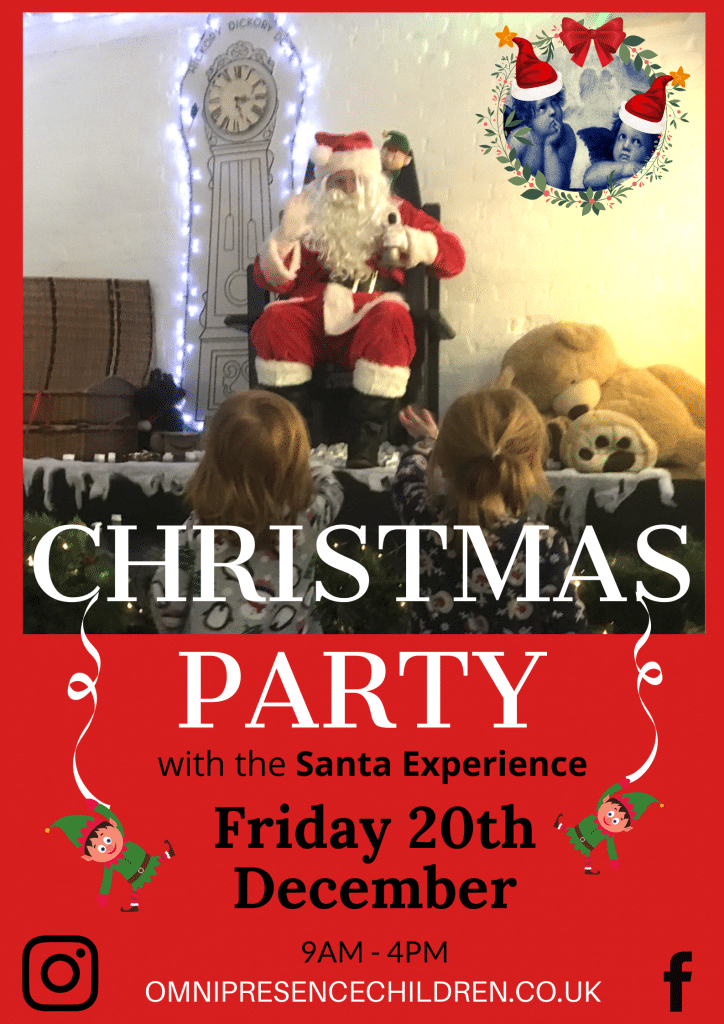 Omnipresence Nursery Northampton - Christmas Party with The Santa Experience