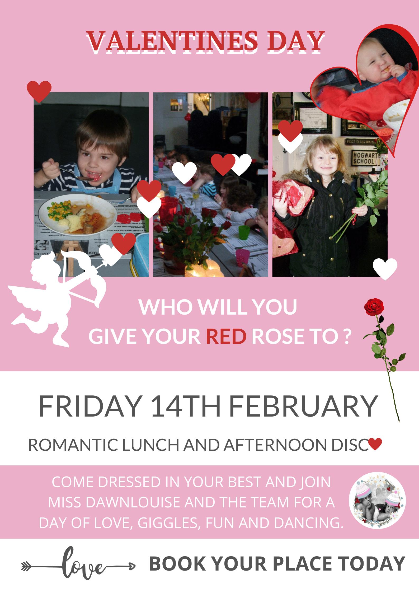 Children nursery valentines day special
