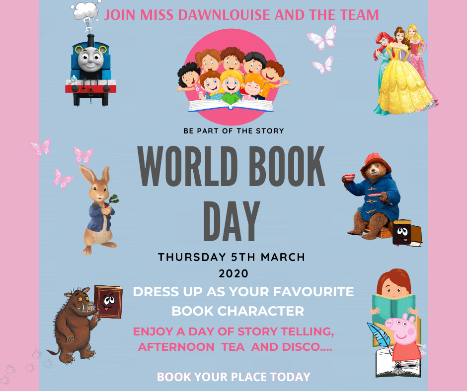 Nursery World Book Day 2020