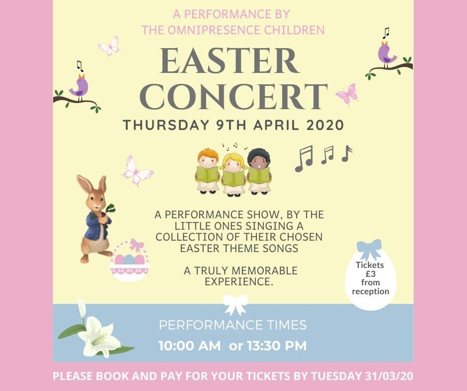 Nursery Easter Concert